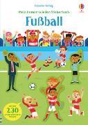 Cover-Bild zu Mein Immer-wieder-Stickerbuch: Fußball von Smith, Sam