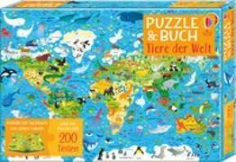 Cover-Bild zu Puzzle & Buch: Tiere der Welt von Smith, Sam