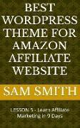 Cover-Bild zu Best Wordpress Theme for Amazon Affiliate Website (eBook) von Smith, Sam