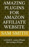 Cover-Bild zu Amazing plugins for Amazon Affiliate Website (eBook) von Smith, Sam