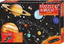 Cover-Bild zu MINT - Wissen gewinnt! Puzzle & Buch: Unser Sonnensystem von Smith, Sam