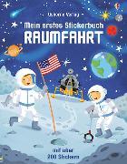 Cover-Bild zu Mein erstes Stickerbuch: Raumfahrt von Smith, Sam
