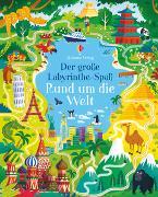 Cover-Bild zu Der große Labyrinthe-Spaß: Rund um die Welt von Smith, Sam
