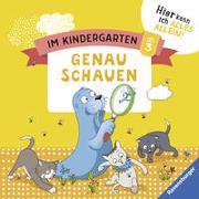 Cover-Bild zu Im Kindergarten: Genau schauen von Jebautzke, Kirstin