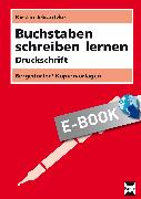 Cover-Bild zu Buchstaben schreiben lernen - Druckschrift (eBook) von Jebautzke, Kirstin