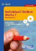 Cover-Bild zu Individuell fördern: Mathe 7. Prozentrechnen von Meisenzahl, Michael