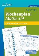 Cover-Bild zu Wochenplan! Mathe 3/4 von Kroll-Gabriel, Sandra