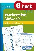 Cover-Bild zu Wochenplan Mathe 3/4, Größen und Sachrechnen (eBook) von Kroll-Gabriel, Sandra