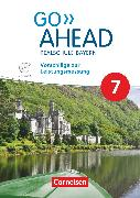 Cover-Bild zu Go Ahead, Realschule Bayern 2017, 7. Jahrgangsstufe, Vorschläge zur Leistungsmessung, CD-Extra von Fleischhauer, Ursula