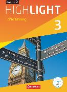 Cover-Bild zu English G Highlight, Hauptschule, Band 3: 7. Schuljahr, Schülerbuch - Lehrerfassung, Kartoniert von Abbey, Susan