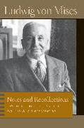 Cover-Bild zu Mises, Ludwig Von: Notes & Recollections