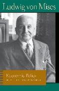 Cover-Bild zu Mises, Ludwig von: Economic Policy