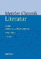 Cover-Bild zu Metzler Literatur Chronik von Meid, Volker