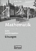 Cover-Bild zu Bigalke/Köhler: Mathematik, Berlin - Ausgabe 2010, Einführungsphase, Lösungen zum Schülerbuch von Bigalke, Anton