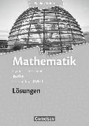 Cover-Bild zu Bigalke/Köhler: Mathematik, Berlin - Ausgabe 2010, Leistungskurs 1. Halbjahr, Band MA-1, Lösungen zum Schülerbuch von Bigalke, Anton