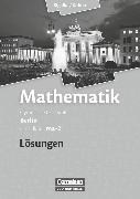 Cover-Bild zu Bigalke/Köhler: Mathematik, Berlin - Ausgabe 2010, Grundkurs 2. Halbjahr, Band ma-2, Lösungen zum Schülerbuch von Bigalke, Anton