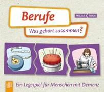 Cover-Bild zu Berufe - Was gehört zusammen? Ein Legespiel für Menschen mit Demenz von Redaktionsteam Verlag an der Ruhr