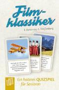 Cover-Bild zu Heitere Quizspiele für Senioren und Seniorinnen: Filmklassiker von Bussenius, Beate