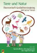 Cover-Bild zu Themenheft Gedächtnistraining mit Senioren: Tiere und Natur von Kelkel, Sabine