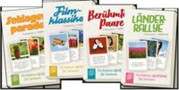 Cover-Bild zu Heitere Quizspiele für Senioren und Seniorinnen: Paketangebot von Bussenius, Beate