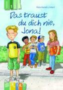 Cover-Bild zu KidS - Klassenlektüre in drei Stufen: Das traust du dich nie, Jona! Lesestufe 1 von Bartoli y Eckert, Petra