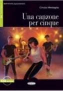 Cover-Bild zu Una canzone per cinque von Medaglia, Cinzia