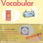 Cover-Bild zu Vocabular Wortschatzbilder - Wohnen 1. Haus und Garten von Lehnert, Susanne
