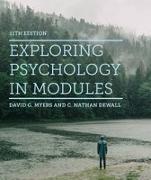 Cover-Bild zu Exploring Psychology in Modules von Myers, David G.