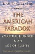 Cover-Bild zu American Paradox (eBook) von Myers, David G.