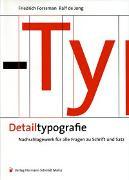 Cover-Bild zu Detailtypografie von Forssman, Friedrich
