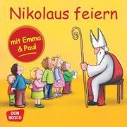 Cover-Bild zu Nikolaus feiern mit Emma und Paul. Mini-Bilderbuch von Lehner, Monika