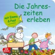 Cover-Bild zu Die Jahreszeiten erleben mit Emma und Paul. Mini-Bilderbuch von Lehner, Monika