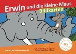 Cover-Bild zu Erwin und die kleine Maus - Bildkarten von Hüser, Christian