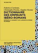 Cover-Bild zu eBook Dictionnaire des emprunts ibéro-romans