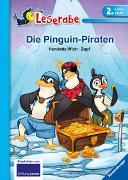 Cover-Bild zu Die Pinguin Piraten - Leserabe 2. Klasse - Erstlesebuch für Kinder ab 7 Jahren von Wich, Henriette