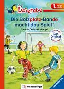 Cover-Bild zu Die Bolzplatzbande macht das Spiel - Leserabe 1. Klasse - Erstlesebuch für Kinder ab 6 Jahren von Ondracek, Claudia