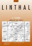 Cover-Bild zu Linthal. 1:25'000