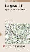 Cover-Bild zu Langnau i. E. 1:25'000