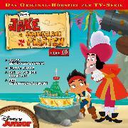 Cover-Bild zu Disney - Jake und die Nimmerland Piraten - Folge 10 (Audio Download) von Bingenheimer, Gabriele