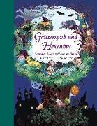 Cover-Bild zu Korthues, Barbara (Illustr.): Geisterspuk und Hexenhut - Ein Hausbuch für die ganze Familie. Mit Bastelideen