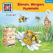 Cover-Bild zu WAS IST WAS Junior Hörspiel. Bienen, Wespen, Hummeln (Audio Download) von Wakonigg, Daniela