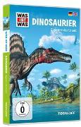 Cover-Bild zu WAS IST WAS DVD Dinosaurier. Giganten der Urzeit von Tessloff Verlag Ragnar Tessloff GmbH & Co.KG (Hrsg.)