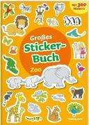 Cover-Bild zu Großes Sticker-Buch Zoo von Schmidt, Sandra (Illustr.)