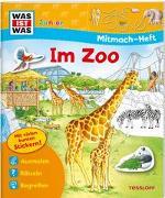 Cover-Bild zu WAS IST WAS Junior Mitmach-Heft Zoo von Marti, Tatjana