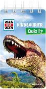 Cover-Bild zu WAS IST WAS Quiz Dinosaurier von Klingner, Inga