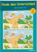Cover-Bild zu Finde den Unterschied. Dinosaurier von Schmidt, Sandra (Illustr.)