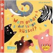 Cover-Bild zu Klever, Elsa: Baby Pixi 78: VE 5 Wem gehört der lange Rüssel (5 Exemplare)