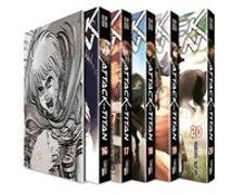 Cover-Bild zu Isayama, Hajime: Attack on Titan, Bände 16-20 im Sammelschuber mit Extra