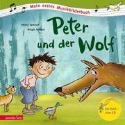 Cover-Bild zu Janisch, Heinz: Peter und der Wolf (Mein erstes Musikbilderbuch mit CD)
