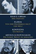 Cover-Bild zu Klassiker des philosophischen Denkens von Gibran, Khalil